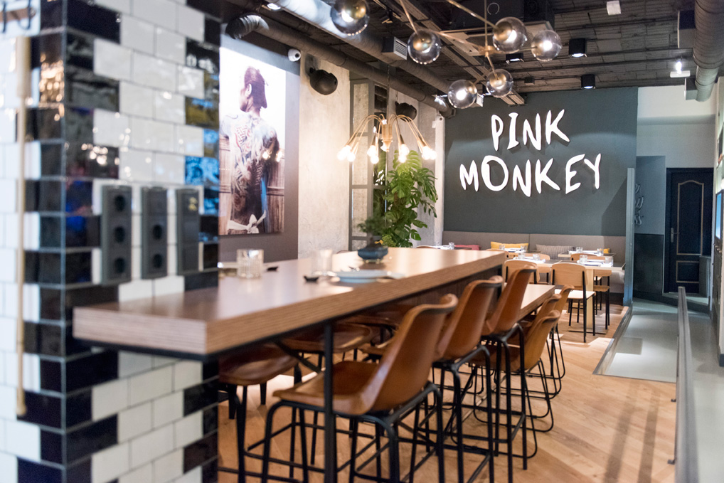 Restaurante Pink Monkey, Madrid