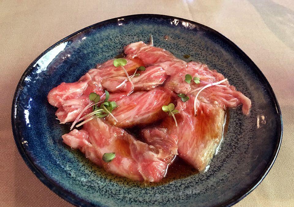 Menú de atún en el Topik de Barcelona