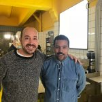 Josep Armenteros y Miquel Coulibaly