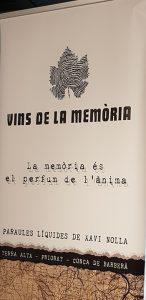 Vins de la memòria