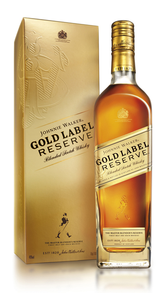 Johnnie Walker Gold y Platinum Label