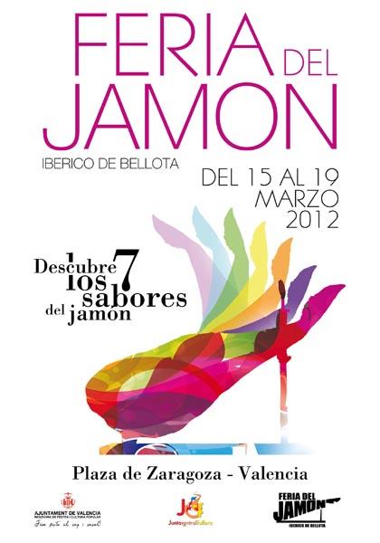 Feria del jamón ibérico en Valencia