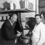 Christian Dior con su cocinero