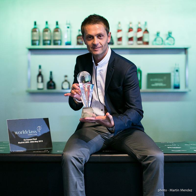 David Ríos, mejor bartender de España