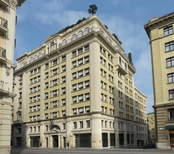 Grand Hotel Central: Lujo ecológico