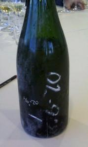 Botella de cava