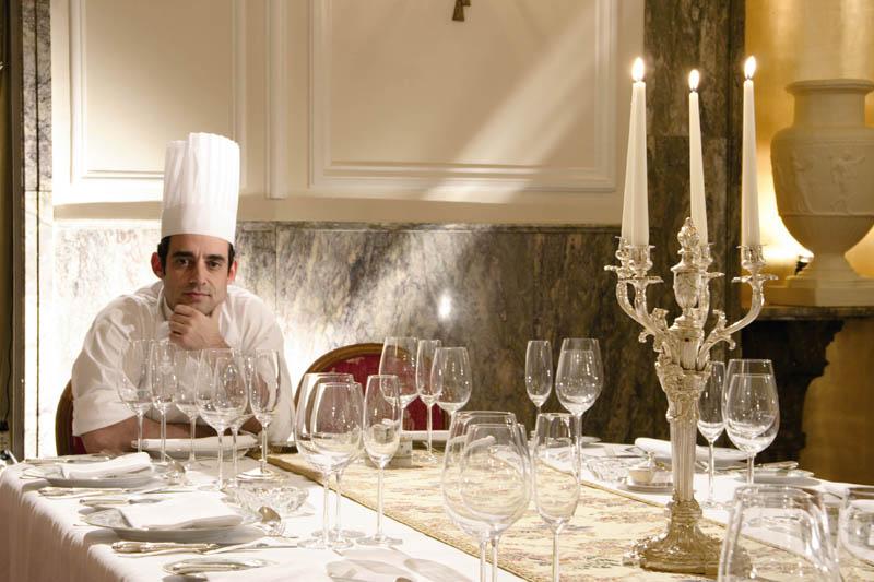 Homenaje del Ritz a la cocina vasca