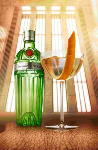 Tanqueray nº Ten, martini