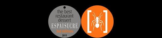 Espai Sucre – The Best Restarurant Dessert 2011